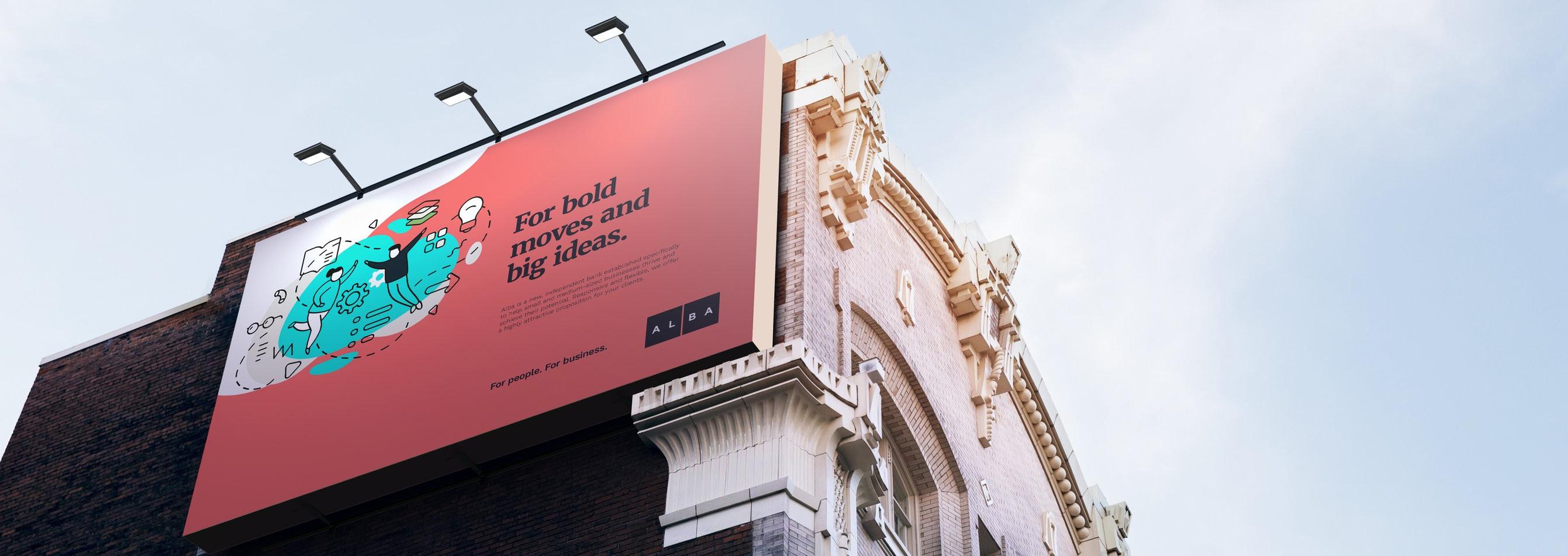 Billboard Alba Bank