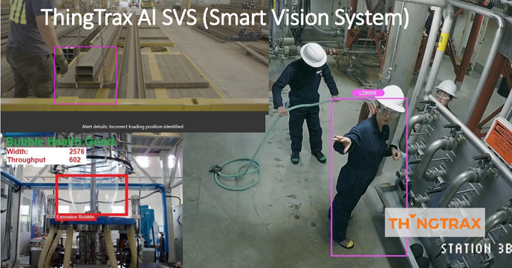 ThingTrax's Smart Vision Systems in action